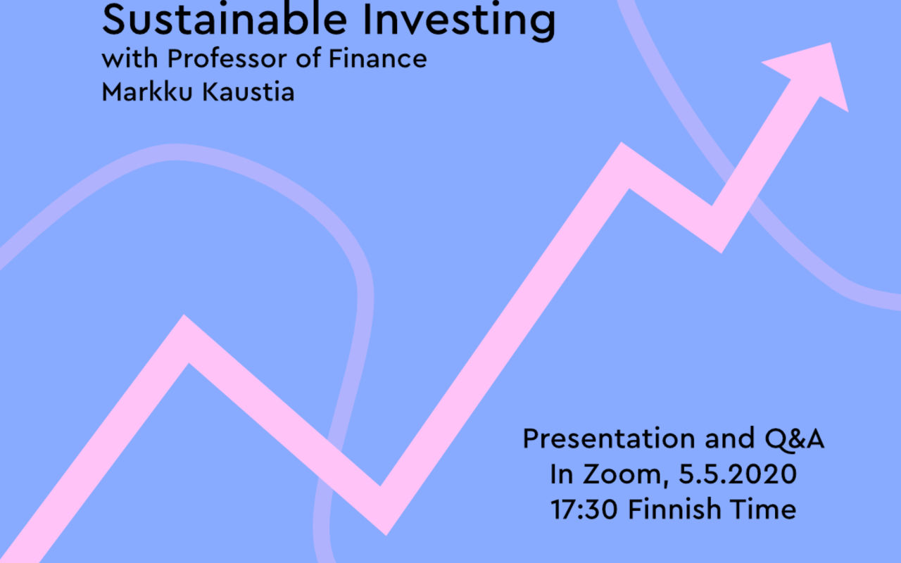 Sustainable Investing Event by SBC