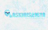 Blue banner photo for Laskiaisrieha with a sloth drawing
