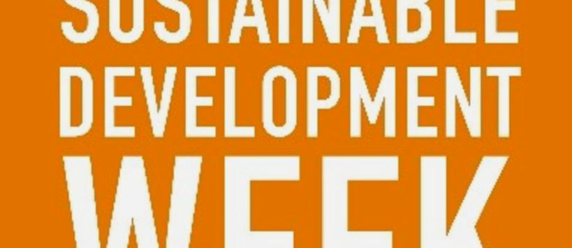 European sustainable Development week banner,